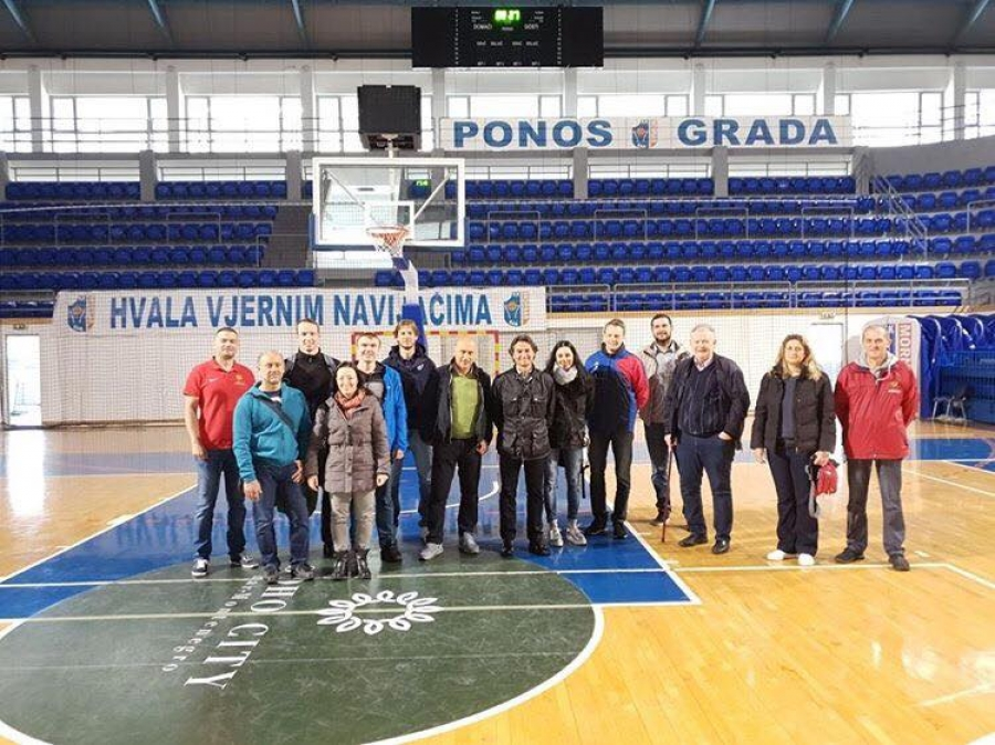 GSSE representatives in a visit to Montenegro
