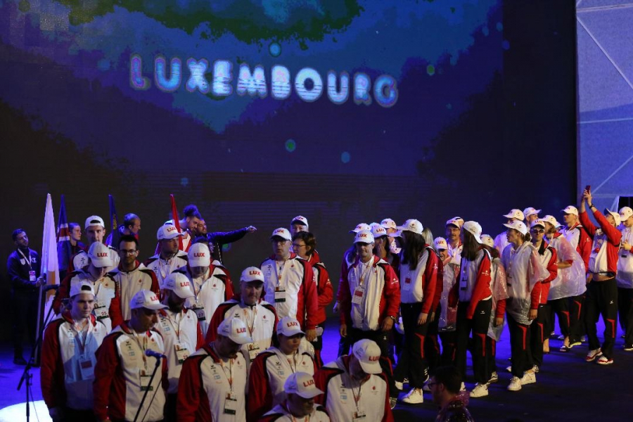 Medals (Day 1): Luxembourg leads the race